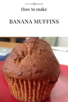 Take a look at these yummy banana muffins. So easy to make yet so tasty. Take a look at my blog to find a step by step guide on how to make them and to find the ingredients needed.