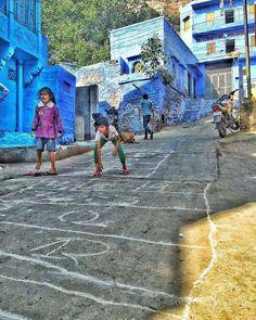 Jodhpur the blue city.                                                                                                                                                                                 More