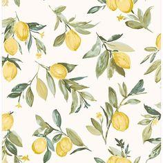 Limon Yellow Fruit Wallpaper