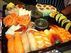Moriawase Mixed at Sushi Bar
