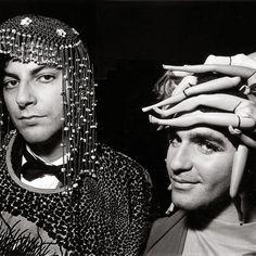 Michael Musto and Albert Crudo.-Wmag