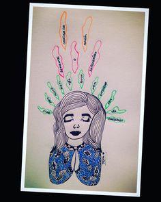 Deus ... nem muito, nem tão pouco, nem suficiente e nem tão exagerado (...) somente o satisfatório. Obrigada! Amém!  #boaneite #buenasnoches #goodnight #artist #tcamestudio #arte #artes #artesanal #illustration #ilustração #art #desenho #drawing #draw