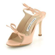 Manolo Blahnik Shoes On Sale   Manolo Blahnik BLUSH Heel Sandals Sale