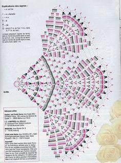 #69_APRIL Lace Crochet Doily Chart (part 2 of 2)
