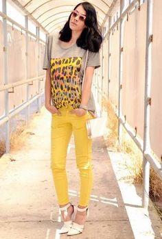 It's Fun Time in yellow