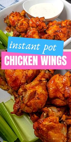 You will not believe how much better chicken wings turn out in the Instant Pot. These Buffalo Chicken Wings are tender, juicy, and after a quick broil--perfectly crispy! So much better than fried, you are going to love these Instant Pot Chicken Wings. Instant Pot Wings Recipe, Best Instant Pot Recipe, Instant Recipes, Instant Pot Dinner Recipes, Instapot Recipes Chicken, Chicken Wing Recipes, Crockpot Chicken Wings, Turkey Crockpot, Keto Chicken Wings