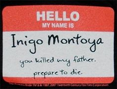 """I is for """"Inconceivable,"""" Inigo Montoya, and the Cliffs of Insanity"""
