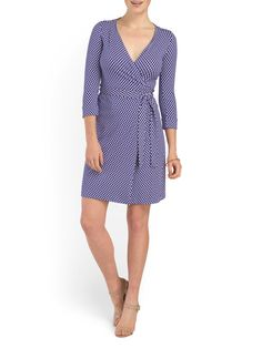 Stay cool and fashionable while dressing professionally. #wrapdress