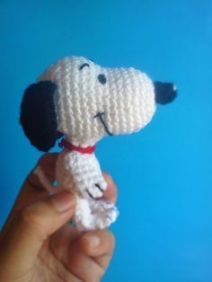 For more, click on the photo to visit the site.  snoopy amigurumi gratis - #Amigurumi #Gratis #SNOOPY Crochet Animal Patterns, Stuffed Animal Patterns, Crochet Animals, Snoopy Amigurumi, Amigurumi Doll, Crochet Gifts, Crochet Toys, Knit Crochet, Crochet Disney