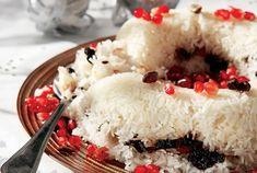 Γιορτινό πιλάφι με κρούστα Food Categories, Greek Recipes, Soul Food, Grains, Rice, Christmas, Salt, Random, Xmas