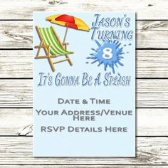 Digital Invites that Move by Luvin Studios' Digital Invitations, Invites, Rsvp, Studios, Animation, Party, Kids, Young Children, Boys