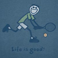 Go for it.  #Lifeisgood #Optimism #Tennis