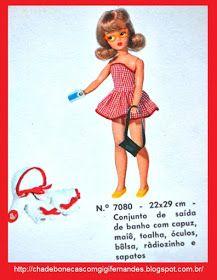 E a Susi continuou com seu sucesso entre as meninas brasileiras. Os modelos de 1967 estavam lindos e ainda foram lançados acessórios como...