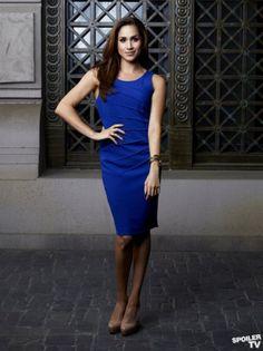 Rachael Zane- work outfit. Love this blue