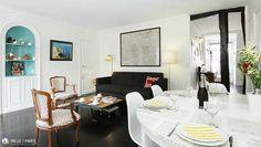 A table ! Appartement parisien décoré avec goût, découvrez-le lors pour un weekend ou vos vacances dans la Capitale #PARIS #1000et1Paris