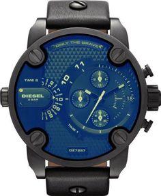 Diesel SBA Only The Brave Revo Glass Men's Watch - DZ7257: Watches: | http://menswear-inspiredwatch.blogspot.com