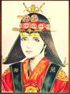 Joseon princess by Feognia