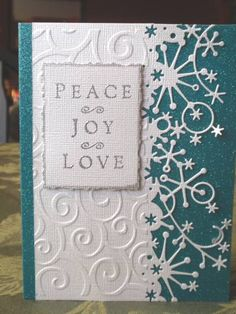 Snowflake Christmas by DeeBeeStampin - Cards and Paper Crafts at Splitcoaststampers