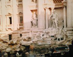 Treve Fountain Rome, Italy