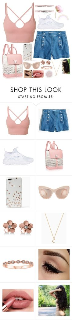 """Lollipop"" by willow-wonder ❤ liked on Polyvore featuring LE3NO, Madewell, NIKE, Kate Spade and Allurez"