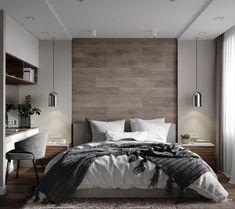 Inspirations Mens Bedroom Ideas - All Bedroom Design Rustic Master Bedroom, Wood Bedroom, Modern Bedroom Design, Master Bedroom Design, Home Decor Bedroom, Home Interior Design, Bedroom Furniture, Bedroom Art, Boys Furniture