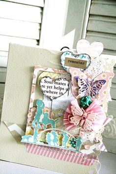 a mini cover using Webster's Pages Best Friends Collection.