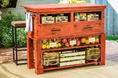 This DIY Kitchen Island gives you more space to cook and store essentials! For more great DIYs, watch Home & Family weekdays at 10a/9c on Hallmark Channel!