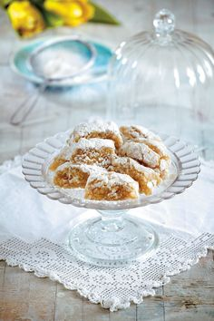 Νηστίσιμα γλυκά Archives - Page 2 of 9 - www. Greek Desserts, Types Of Food, Deserts, Sweet Home, Sweets, Cookies, Baking, Breakfast, Recipes