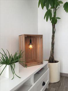 Cagette décorative ampoule à filament