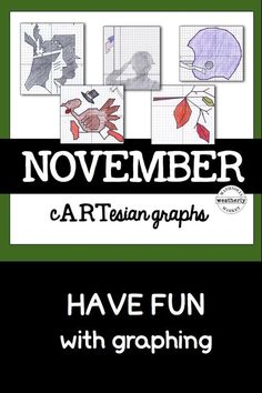 Who couldn't use a little graphing practice? Have fun creating November pictures while plotting points!