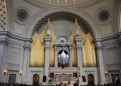 Frontal view, Organ of the First Church of Christ, Scientist, Boston by renzodionigi, via Flickr