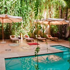 swimming pool, Riad El Fenn, Marrakech