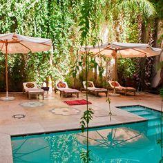 swimming pool, Riad El Fenn, Marrakech