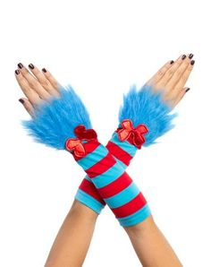 Dr Seuss Thing 1 Thing 2 Glovelettes