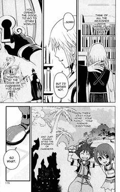 KINGDOM HEARTS: CHAIN OF MEMORIES #4 - Page 10