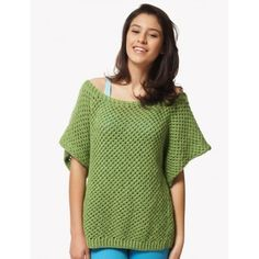 Mesh Top in Bernat Satin. Discover more Patterns by Bernat at LoveKnitting. The world's largest range of knitting supplies - we stock patterns, yarn, needles and books from all of your favorite brands.