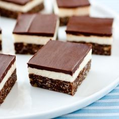 Nanaimo Bars - a completely delicious and delightfully chocolaty, Canadian no bake dessert bar.