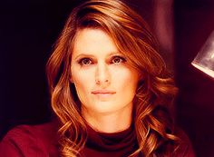 Kate Beckett off of Castle-I loved her hair in the more recent seasons