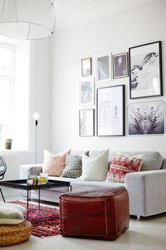Bohemian Interior Decoration Inspiration: Elegant yet Eclectic Living Room Decor Eclectic Living Room, Home Living Room, Apartment Living, Living Room Designs, Living Room Decor, Living Spaces, Living Area, Kitchen Living, Apartment Ideas
