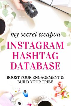 Let me guess where you're at... You're struggling to grow your Instagram and reach your tribe!  You know you should be using hashtags on Instagram. This is for you (affiliate link). Maybe you have been hashtagging with little or no increase in engagement; but are you using the right hashtags for your blog or business? Social media tips, blogging tips and resources. #instagramtips Instagram tips for bloggers - where to find hashtags to get more Instagram followers.