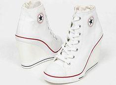 27c46ee89ea820 converse wedge heels white Converse High Heels
