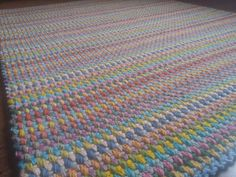 "Crochet Square Rug/Rectangular Rug 67""/52""/170 cm/133 cm/Crochet Rug/Rugs/Rug/Area Rugs/Floor Rugs/Large Rugs/Handmade Rug/Carpet/Wool Rug by AnuszkaDesign on Etsy"