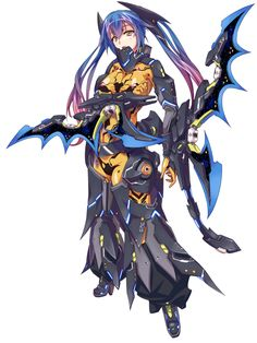 Quna (クーナ)   Wearing Zelsius / Zerushiusu (ゼルシウス)
