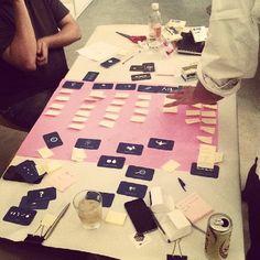 A parte mais legal dos workshops é ver a materialização das idéias em pouco tempo! @Joox #methodkit