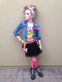 80u0027s costume idea. & 80u0027s day at school- dress like your fav decade. | Kids | Pinterest ...