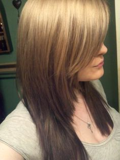 reverse ombre for grow...