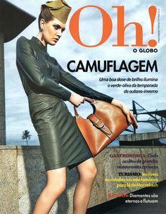 Gucci Cover - Oh! Brazil, April 2013