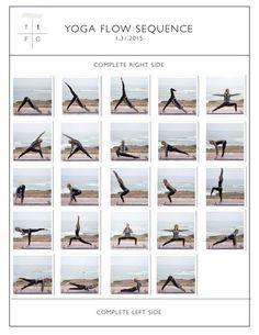 learn how to do a basic sun salutation a and synchronise