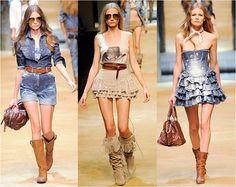 moda country chic
