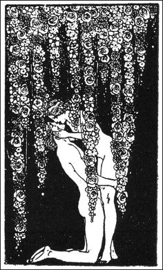Aubrey Beardsley Illustration Art Nouveau The History of Venus and Tannh Inspiration Art, Art Inspo, Aubrey Beardsley, Illustration Art Nouveau, Ink Illustrations, Art Plastique, Erotic Art, Love Art, Vintage Art